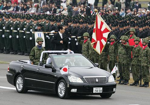 10月24日のできごと(何の日)【菅直人首相】自衛隊観艦式に出席