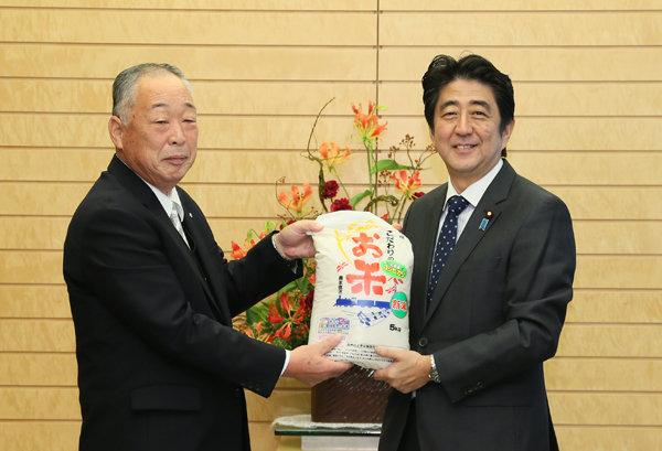 10月25日のできごと(何の日)【安倍晋三首相】「福島のお米はおいしい」