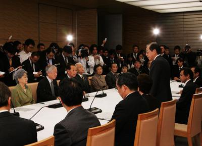 10月26日のできごと(何の日)【福田康夫首相】拉致被害者家族会と面会