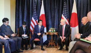 5月26日は何の日【安倍晋三首相】米・トランプ大統領と会談