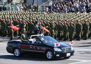 10月27日は何の日【安倍晋三首相】自衛隊観閲式で中国けん制