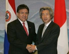 10月29日は何の日【小泉純一郎首相】パラグアイ大統領と会談