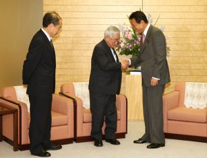 10月31日は何の日【麻生太郎首相】益川、小林両氏と懇談