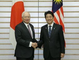 11月16日は何の日【安倍晋三首相】マレーシア・ナジブ首相と会談