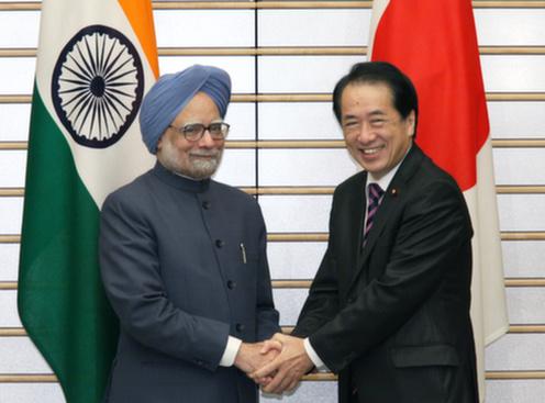 10月25日のできごと(何の日)【菅直人首相】インド首相と会談