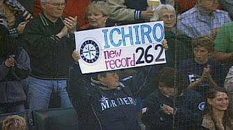 10月3日のできごと(何の日)【マリナーズ・イチロー外野手】シーズン最多安打記録「262」