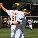5月9日のできごと【MLB・アスレチックス】ブレーデン投手、完全試合達成