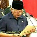 5月21日のできごと【インドネシア・スハルト大統領】辞任