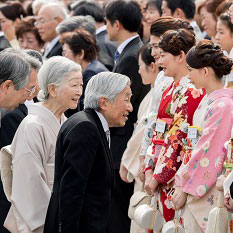 4月20日のできごと(何の日)【春の園遊会】約2000人が出席