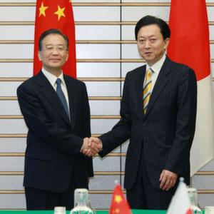 5月31日のできごと【鳩山由紀夫首相】中国・温家宝首相と会談