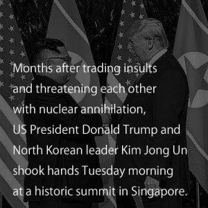 6月12日は何の日「米朝首脳会談」